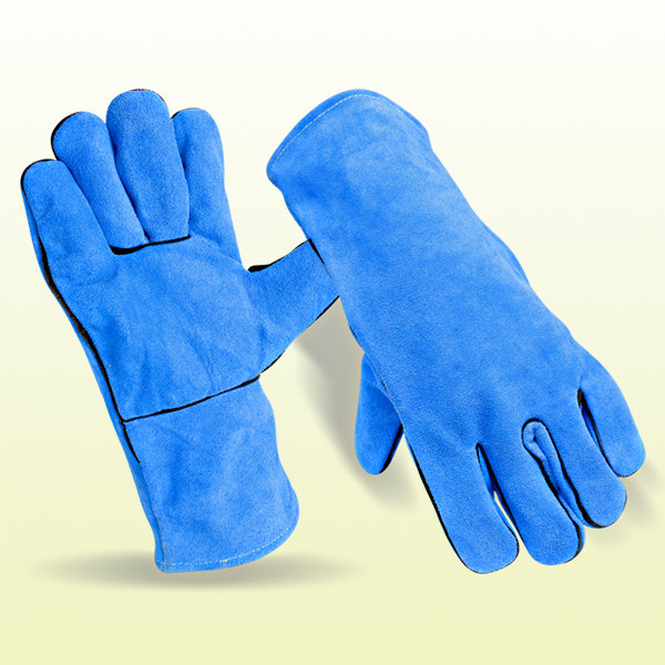 Cow Grain and Split Leather Welding Gloves