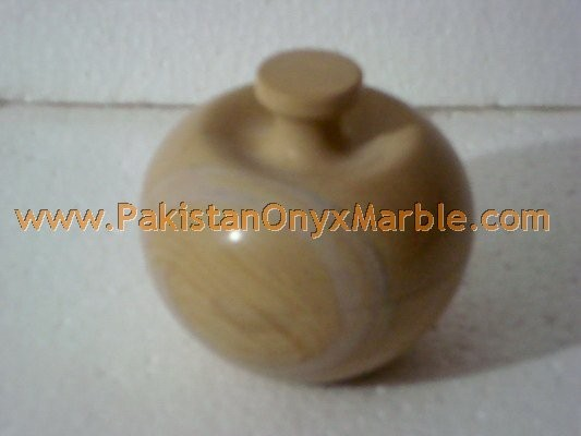 UNIQUE MARBLE CANDY JARS POTS HANDICRAFTS