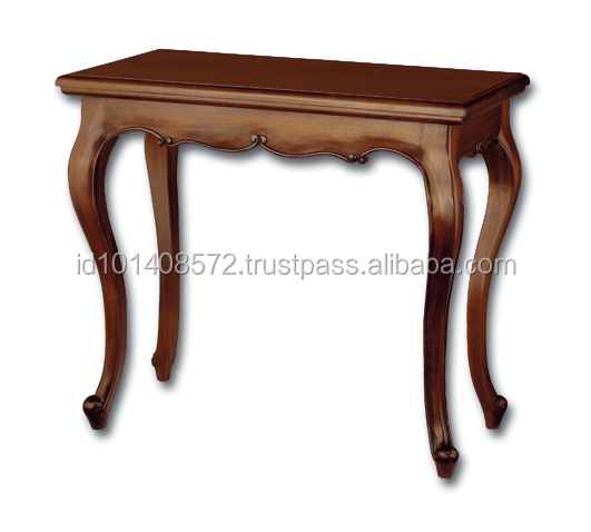 Mahogany Hall Table Marquerita Indoor Furniture.