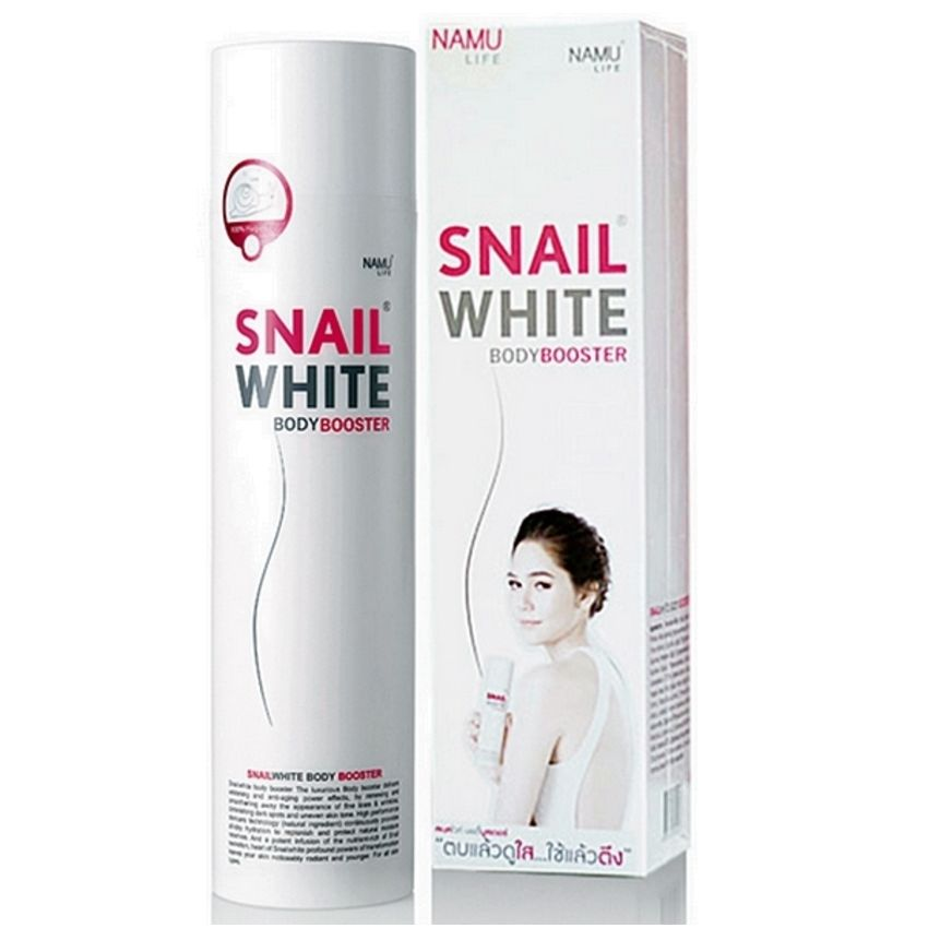 200g SNAIL WHITE BODY BOOSTER MOISTURIZE SMOOTH WHITENING LOTION CREAM
