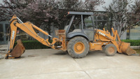 Used Backhoe loader Case 580M, used Case Backhoe loader 580M for sale