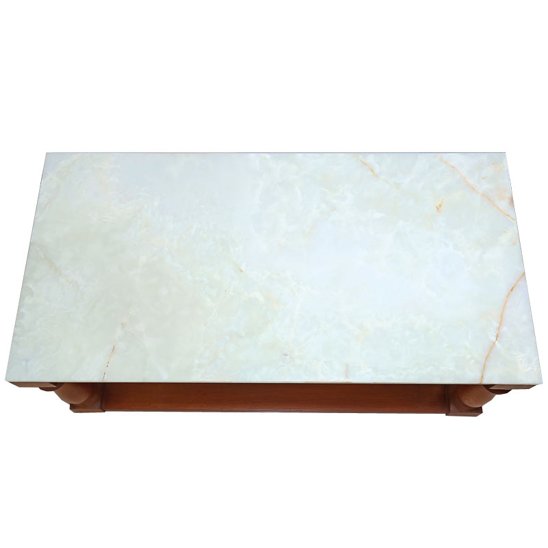 Green Onyx Table