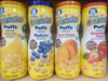 Gerber Graduates Puffs Cereal Snack, Variety Pack