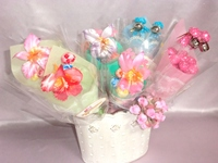 Various types of Cute candy wrapping pape candy with strawberry flavor made in Japan