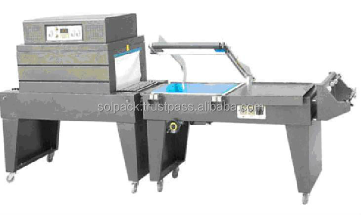 Solpack film shrink packaging machine