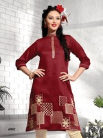Indian Designer Pure Printed Cotton Kurtis For Women Summer Kurtis Casual Kurtis