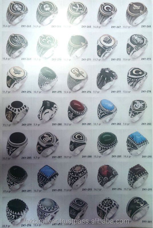 Silver 925 Man Rings Collection 2014