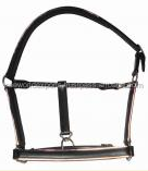 Genuine Leather Halter with radium and soft padding