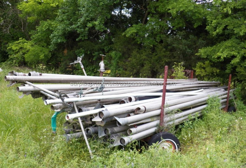 USED aluminum irrigation pipe & trailer & sprinkler heads
