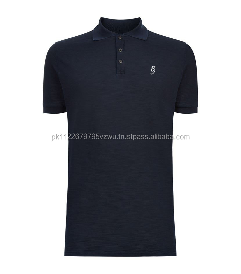 Italian style perfectly pair with jeans cotton polo shirt