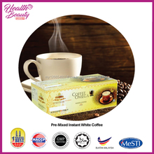 Malaysia 3 in 1 Instant White Coffee with high quality coffee bean
