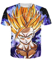 teen gohan sublimation t shirt/custom sublimation t-shirt/AT BERG