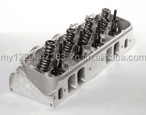 BBC 345cc Magnum Rectangle Port Cylinder Heads Chevy Big Block 572 3450