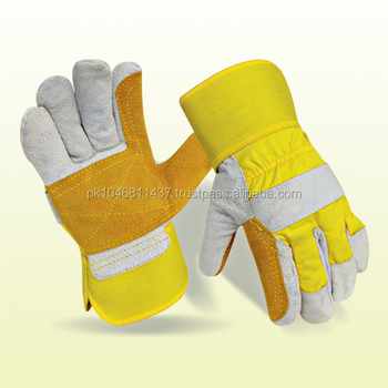 Double Palm Work Safety Gloves
