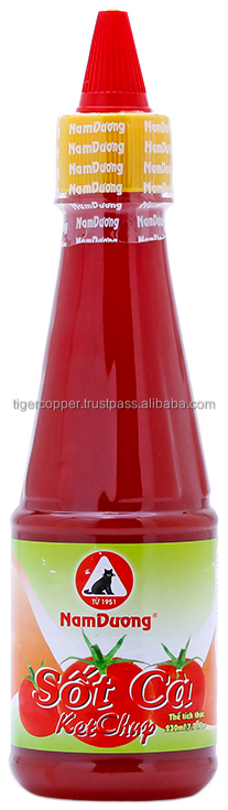 NAM DUONG KETCHUP PET BOTTLE 230ML