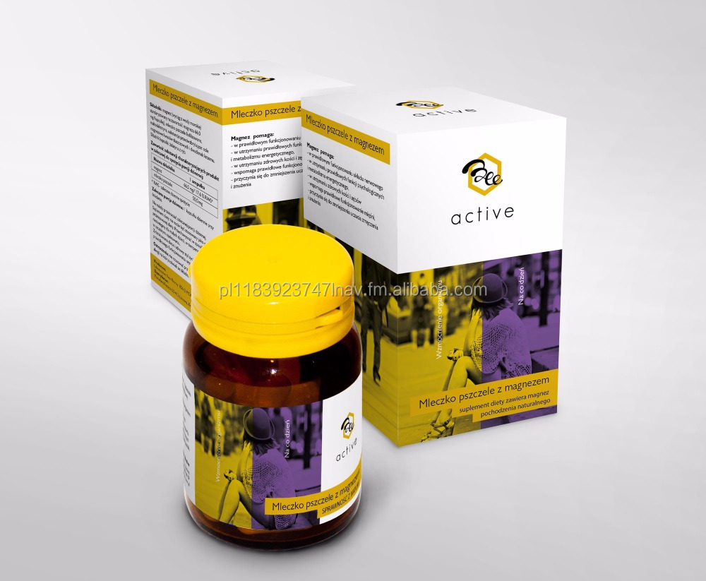 Capsules with royal jelly and Magnesium 30pcs x 9,9 g