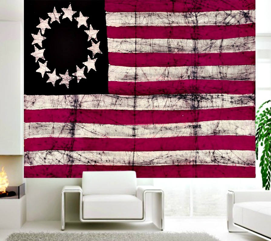 United States Colonial Patriotic Flag Tapestry Beautiful Indian Wall Art,Curtains, Hippie Wall Hanging, Bohemian Tapestries