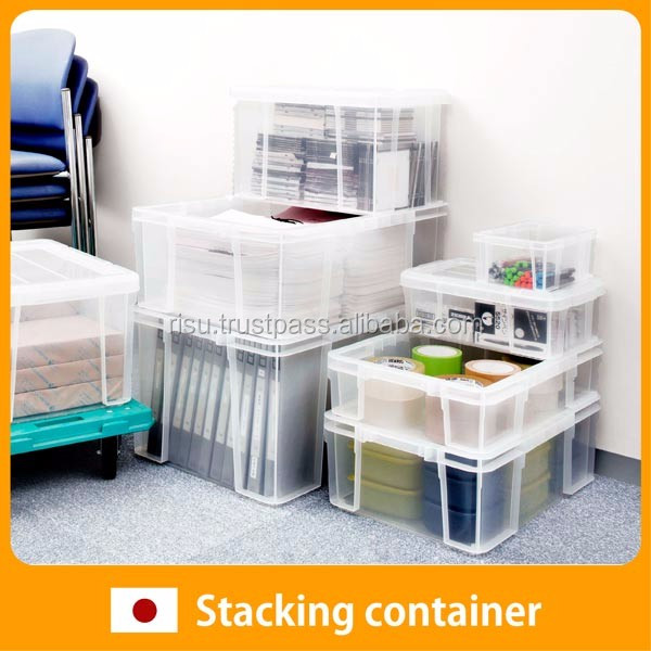 Durable storage box for office Container for industrial use , Lid also available