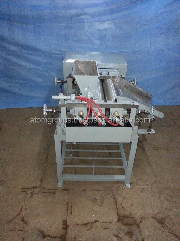 Electric Toilet Soap Triple Roll Milling Machine
