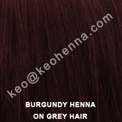 Burgundy Hair Dye Powder