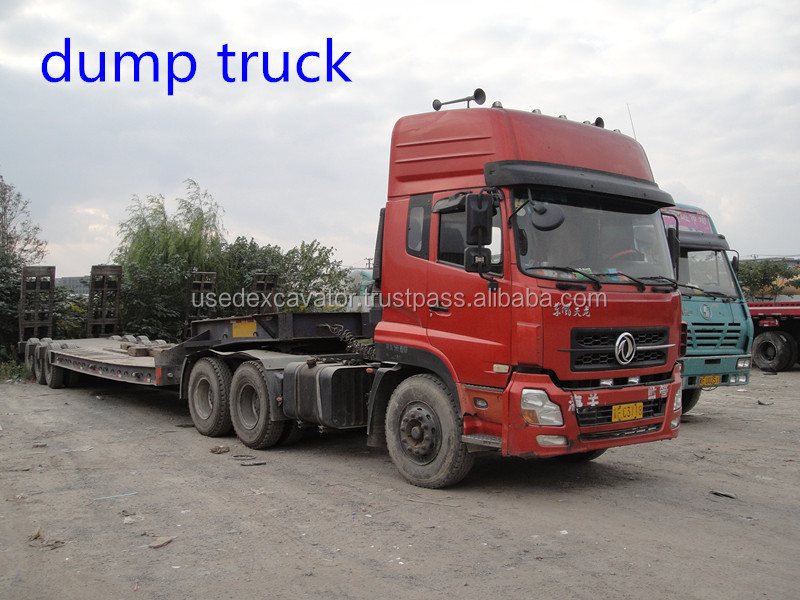 Used volvo/ mercedes benz dump truck for sale