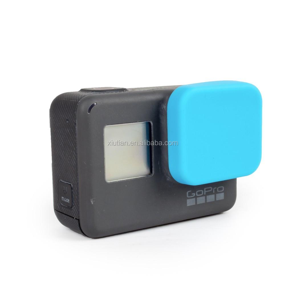 Sports Camera Silicone Lens Cap For Gopro Hero5 Hero 5 Accessories ...