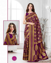 Designer printed cotton silk fanctionalwear saree