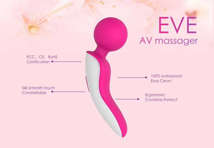 OEM/ODM factory Adult Products AV Wand Vibrator Sex Toys for female
