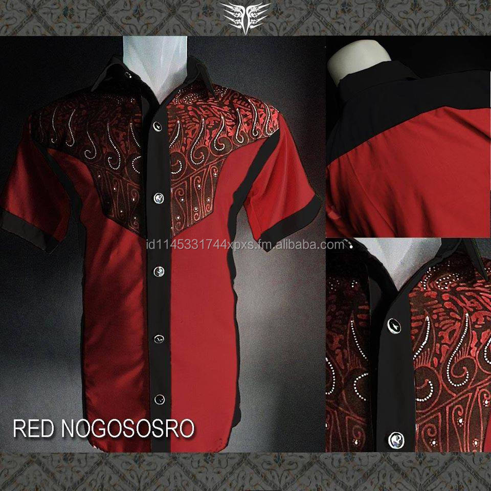 RED NOGOSOSRO Premium Batik Indonesia