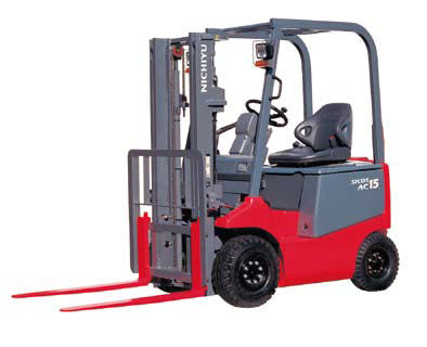 1.0 Ton Electric Forklift Counter Balanced Trucks For Sales and Rental (Nichiyu FB10-25), Leasing, Brand New and Used