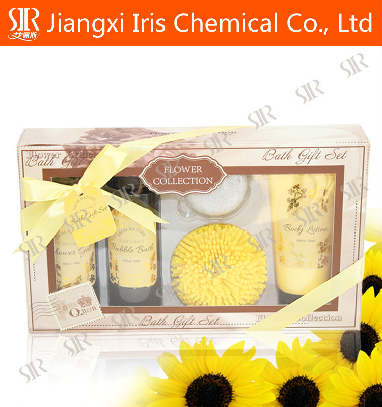 bath gift sets manufacturer GMPC certificated