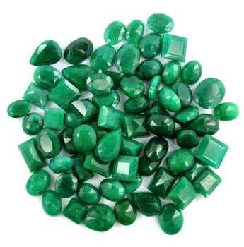 500 Carat Natural Emerald Mix Shape Loose Gemstone in India
