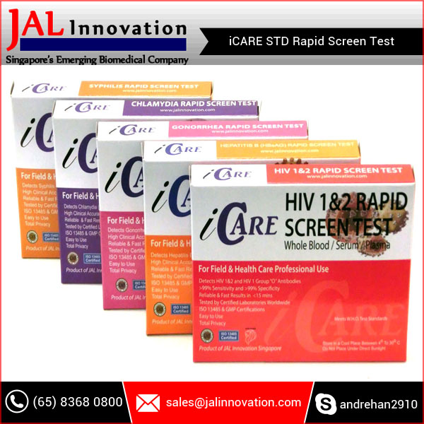 iCARE HIV 1&2 Rapid Screen Test
