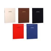 Durable simple colors self-adhesive sheet photo album made in Japan