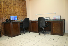 Black Palm Office Desk