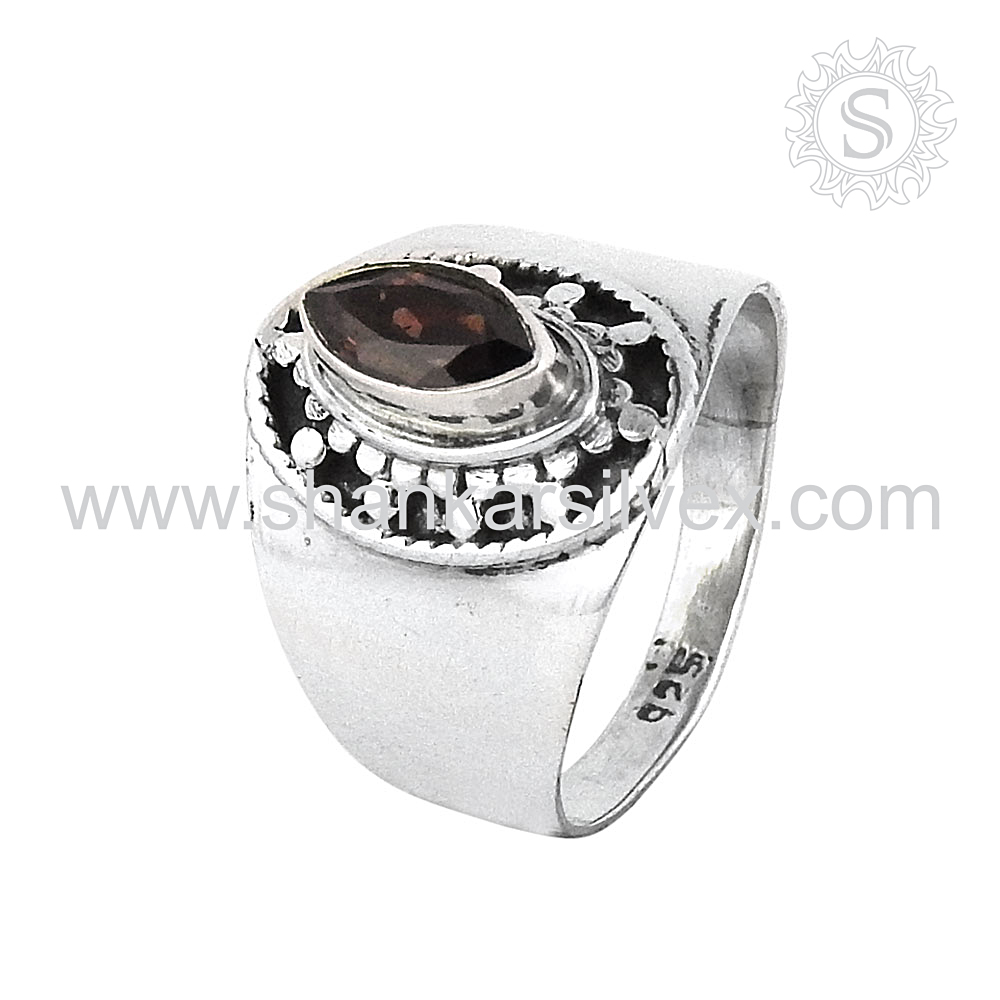 Brighten Up ! 925 Sterling Silver Jewelry Red Garnet, 925 Silver Jewelry Wholesale, Latest Gemstone Silver Jewelry Ring Supplier