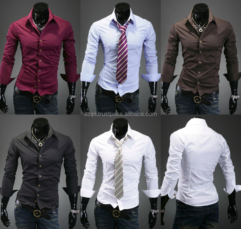 Formal Quality Men Office Shirts From India - Buy Formal Quality ...