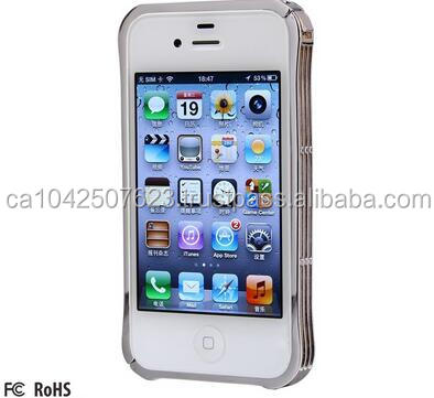 Fashiom Metal Mobile Phone case/Metal Bumper With Buckle Design