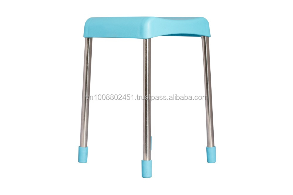 Metal legs and Plastic seat Chairs for Sale