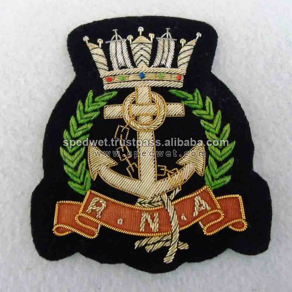 Royal australian army chaplains department bullion wire beret badge hand made cap blazer patches