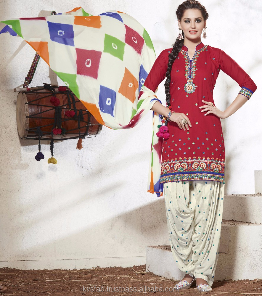 Patiala Suit with Work