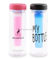 Logo Print Friendly BPA Free Water Bottle Bio Ecozen My Bottle Ice 500ml 600ml Eco Plastic Water Bottle