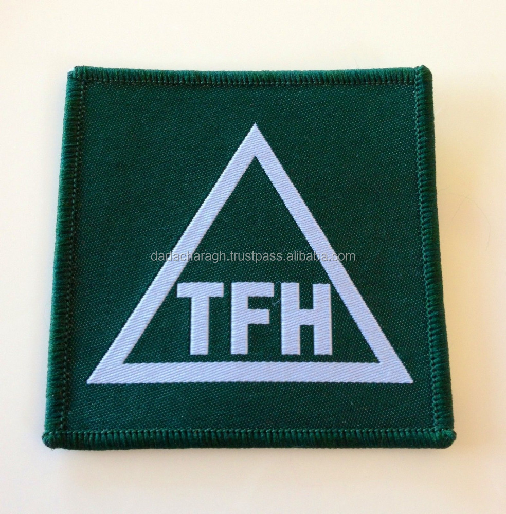 WOVEN BADGE PATCH, WITHOUT VELCRO, TASK FORCE HARVESTER, TRF