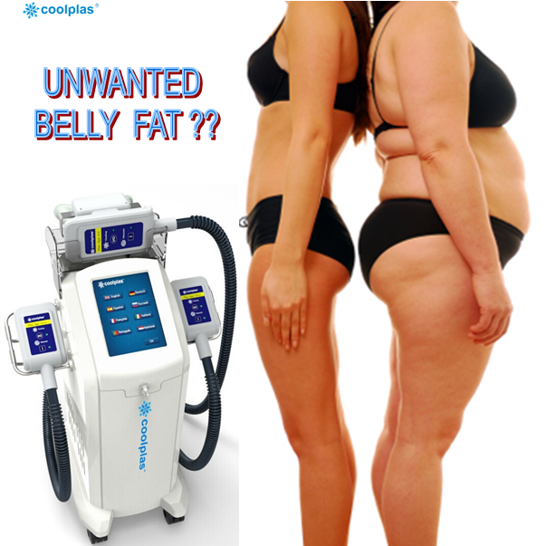 noninvasive body contouring coolplas beauty equipment cryolipolysis