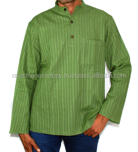 Indian Designer Cotton Gents Kurta