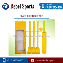 Error Free High Quality Plastic cricket set for Sale with Excellent Micro Finish