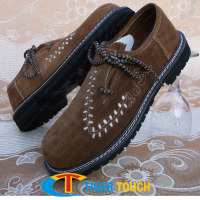 Bavarian Trachten men shoes in suede leather Shoes Zurich in all sizes