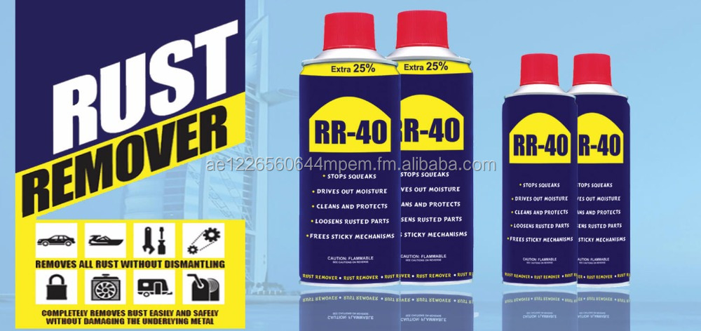 Rust Remover RR-40 Multi Purpose Quick Use - Direct from Manufacturer, Wholesale Rate