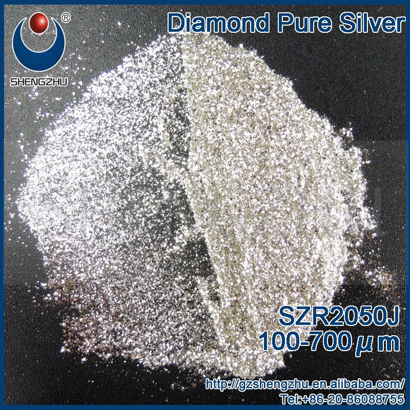 40MESH Diamond Pure Silver SZR2050J nail powder