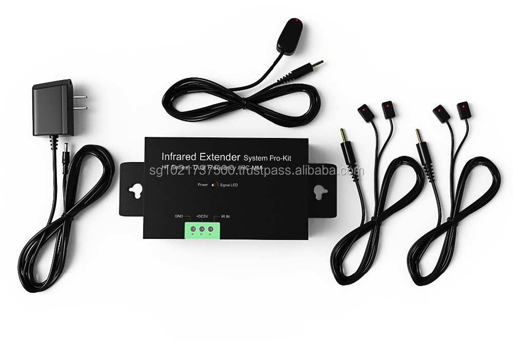 Infrared Extender for 4 Hidden Audio Video devices HT1Y4